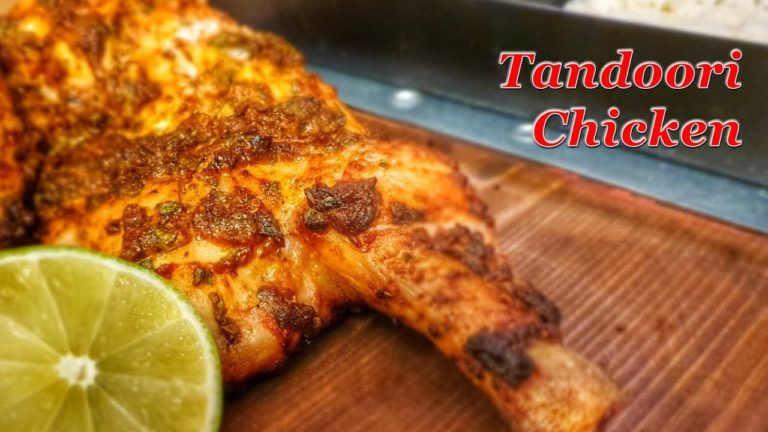 Tandoori Chicken vom Holzkohlegrill